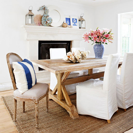 Decorating With Blue: Dining Room Inspiration ...