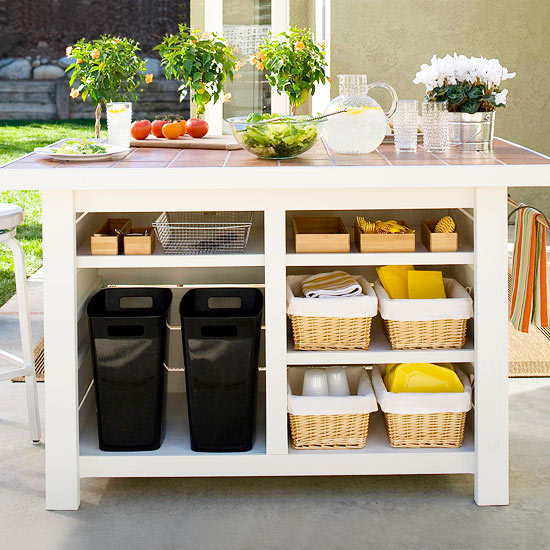 Ready, set, GET ORGANIZED for summer parties!