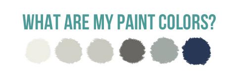 Paint Colors {My House}