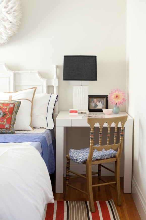 Small bedroom ideas the inspired room Small bedroom desk