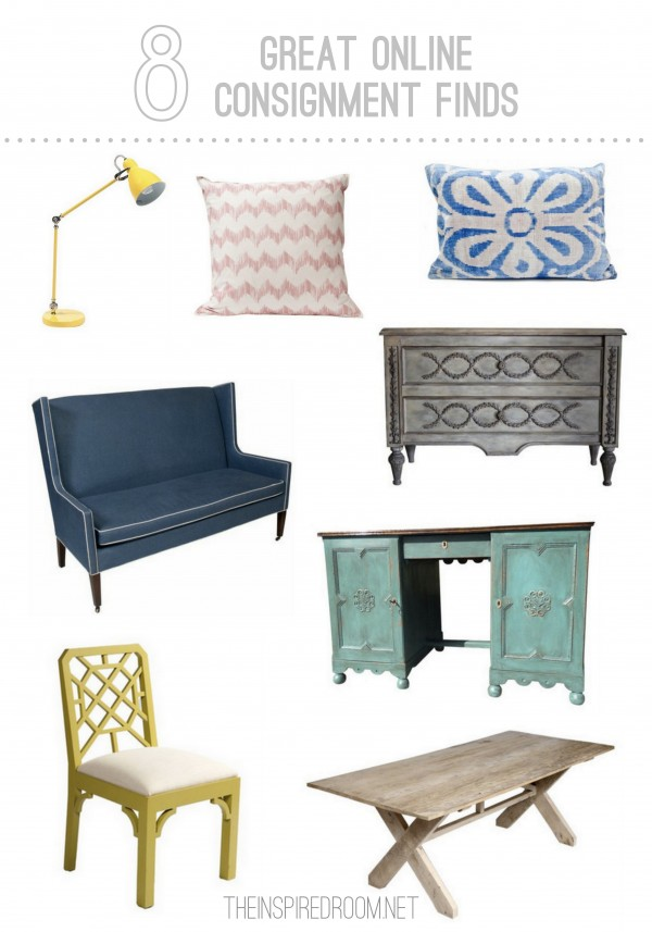 Great online furniture consignment finds the inspired room