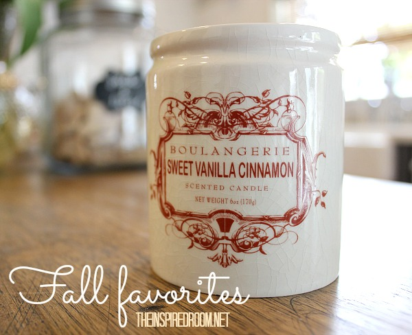 My Favorite Fall Candle