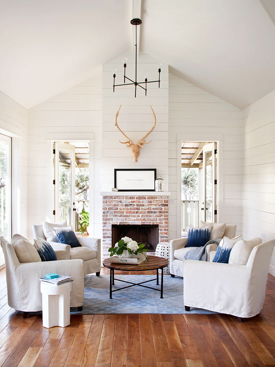 10 tips for styling large living rooms other awkward for Living room 2 seating areas