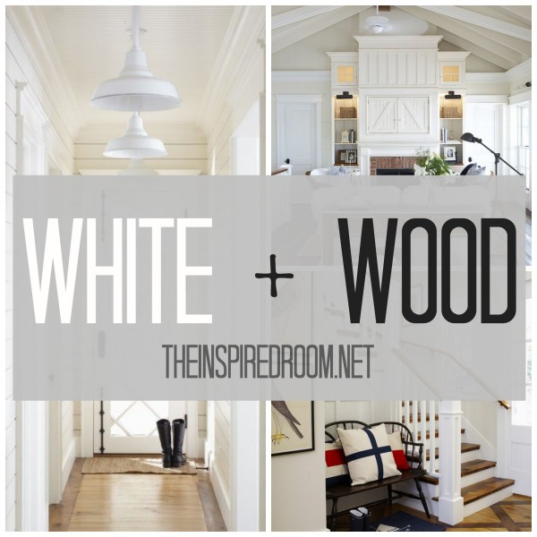 white and wood cottage inspiration
