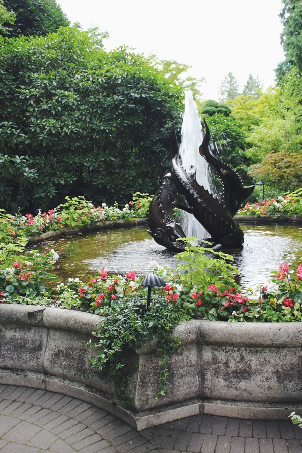 Butchart Gardens Fountain