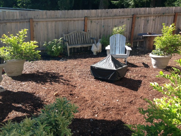New Pea Gravel Patio Project Amp Backyard Inspiration The