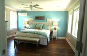 blog cabin master bedroom tour