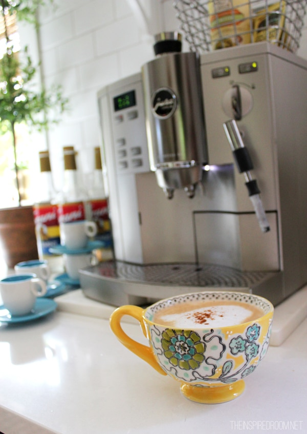 Fall Nesting {Pretty Mugs & Fancy Coffee Station}