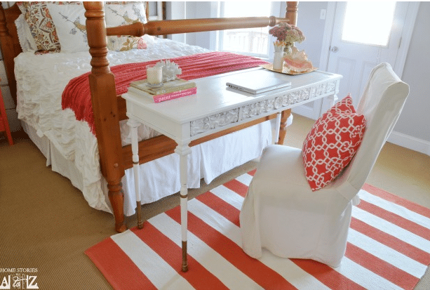 How to Paint a Striped Rug