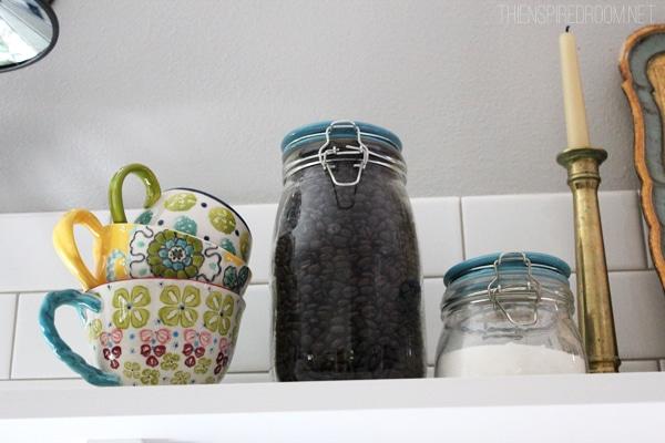 Fall Nesting {Pretty Mugs & Fancy Coffee Station}
