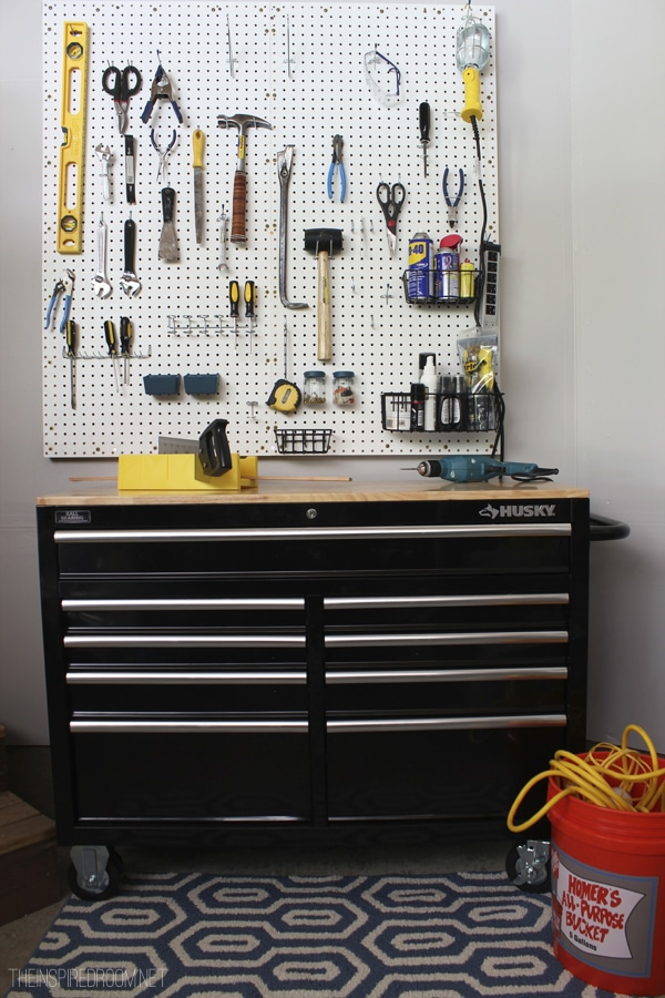 Fall Nesting {DIY Pegboard & Tool Organization for Projects!}