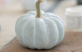 DIY Milk Paint Pumpkins Miss Mustard Seed