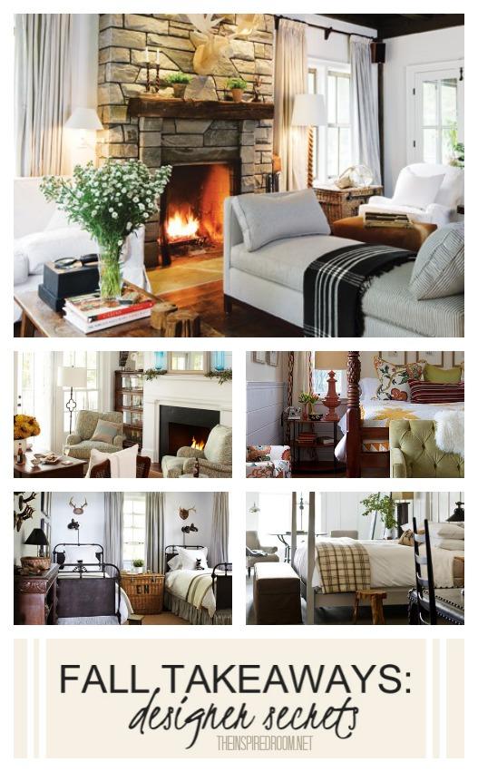 Cozy Rooms {Designer Secrets}
