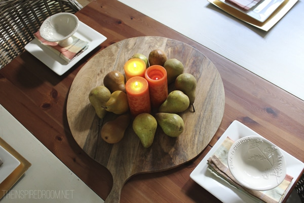 Simple Fall Centerpiece {Use What You Have}