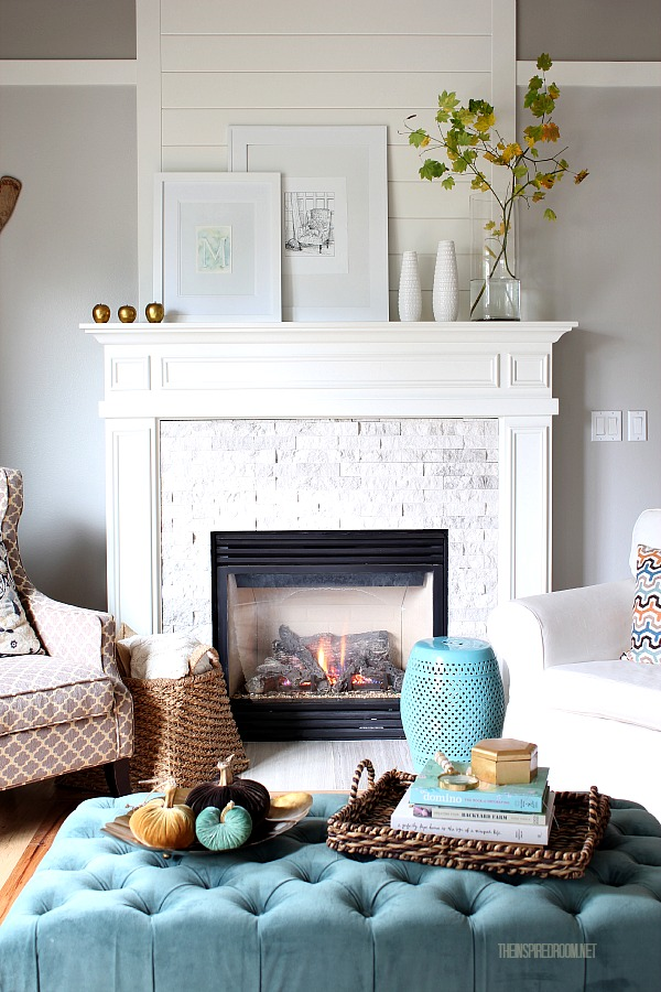 How to decorate decorating 101 the inspired room for How to decorate living room with fireplace