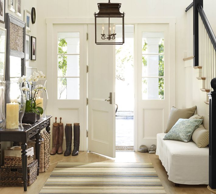 Foyer Into Room : Making the most of hallways entries small rooms