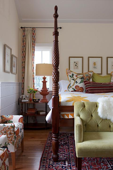 Cozy rooms designer secrets the inspired room for Sarah richardson bedroom designs