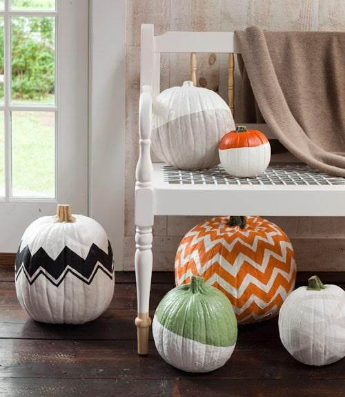 Delightful Painted Pumpkins