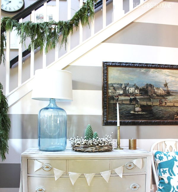 Christmas-decorating-entry-table-The-Inspired-Room-Christmas-House-Tour