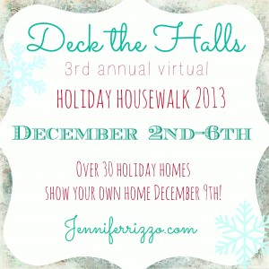 Christmas house tours