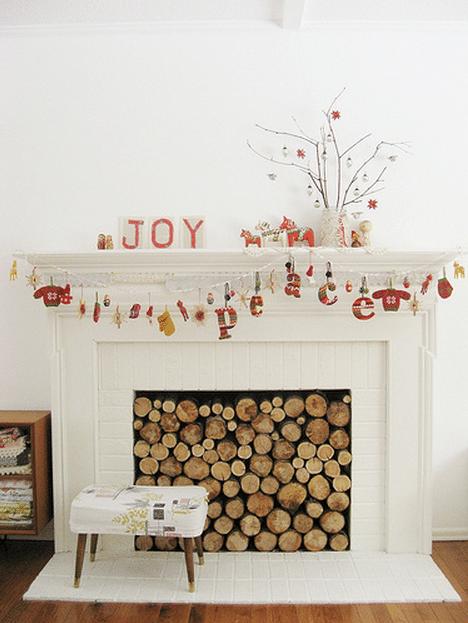 {Inspiration} A Simple Whimsical Christmas