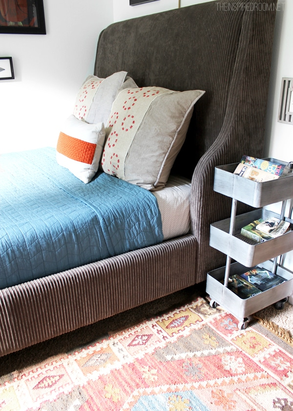Teen Boy Bedroom Makeover Progress: The New Bed