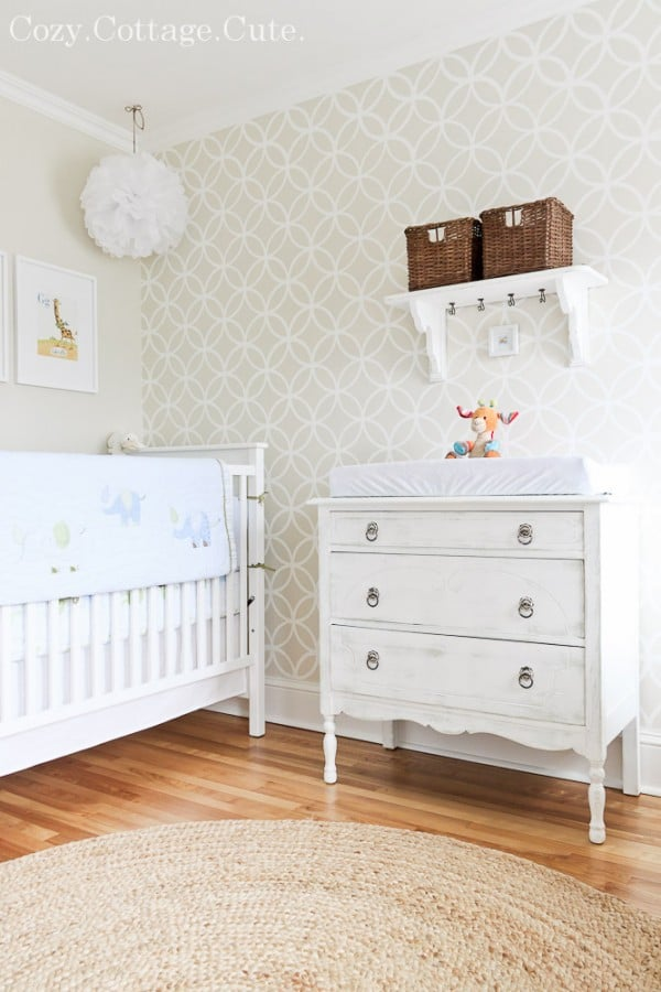 Cozy Cottage Cute Nursery Room Tour