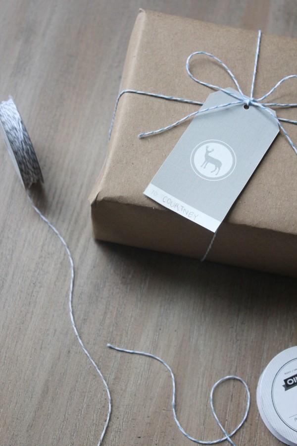{Adorable} Free Printable Gift Tags