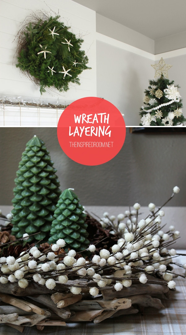 How to Layer Wreaths {Easy & Frugal DIY Tip!}