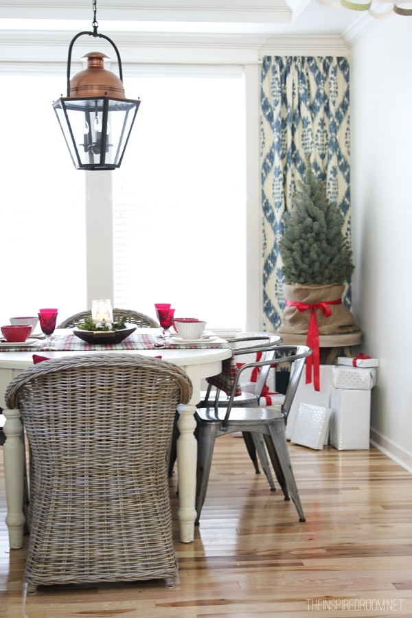 The Inspired Room Christmas House Tour - Dining Room