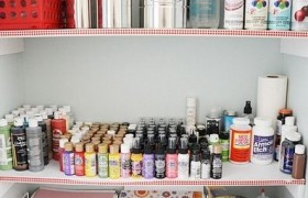 Organized Craft Room - A Room Tour