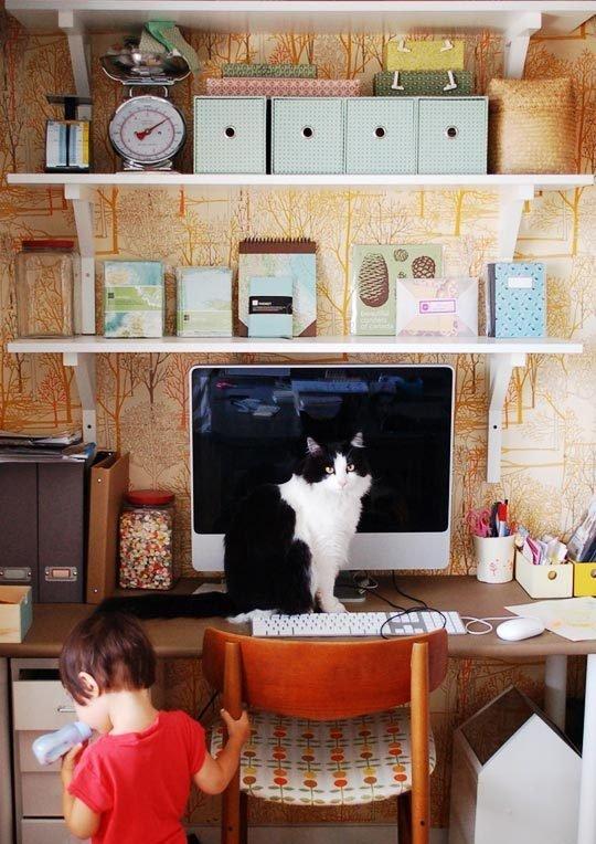 {Inspiration} Craft Closet Organization