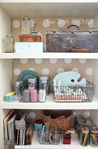 Room Tour with Organizational Ideas and Tips for an Organized Craft Room