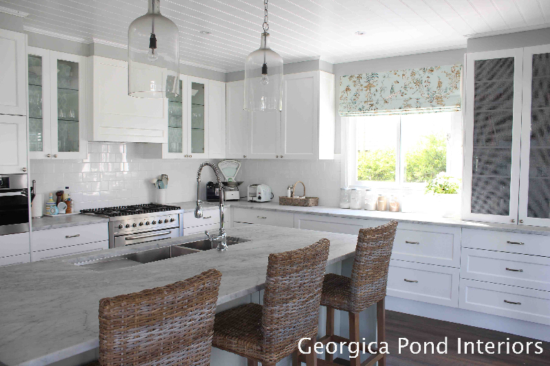 White Kitchen Georgica Pond