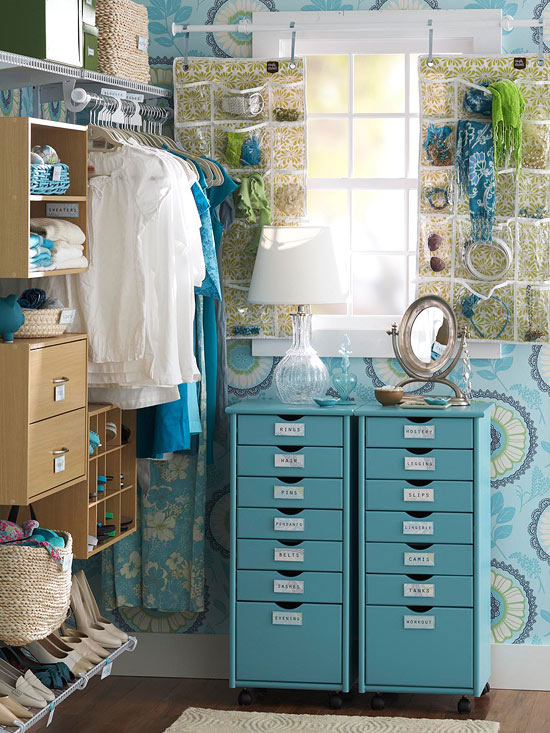 Delightful 7 Ideas For Creative Master Closet Storage