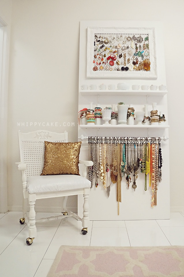 jewelry organization closet