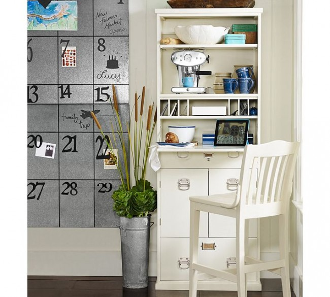 pottery barn kitchen organization