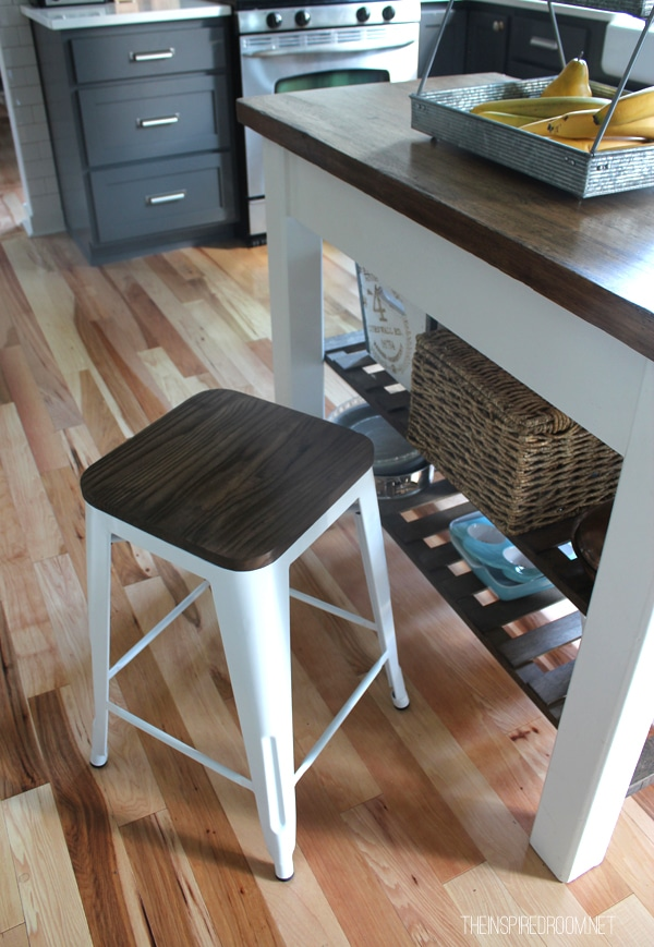 Farmhouse style barstool The Inspired Room kitchen