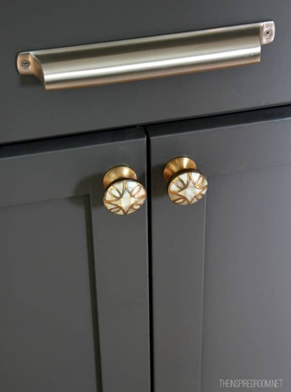Mixing Hardware in the Kitchen - Silver and Brass