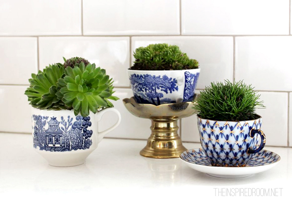 Teacup Gardens by The Inspired Room