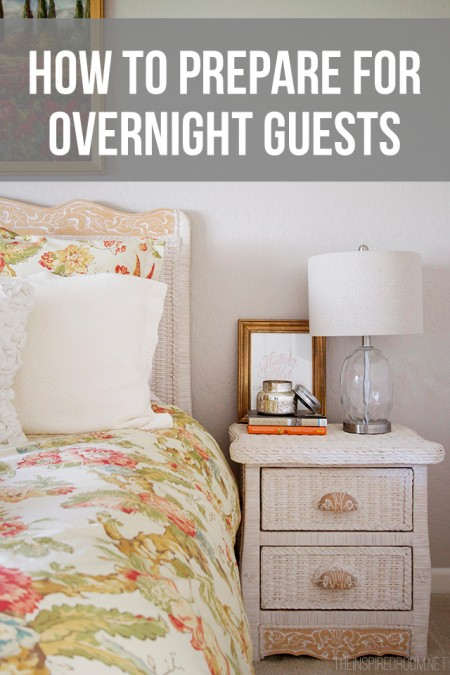 Things To Remember When Preparing for Overnight Guests
