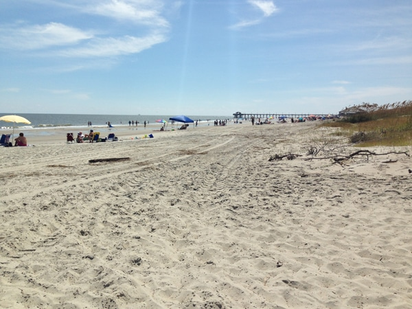 Tybee Island beach vacation