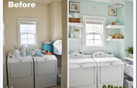 Laundry Room Transformation {Sand & Sisal}