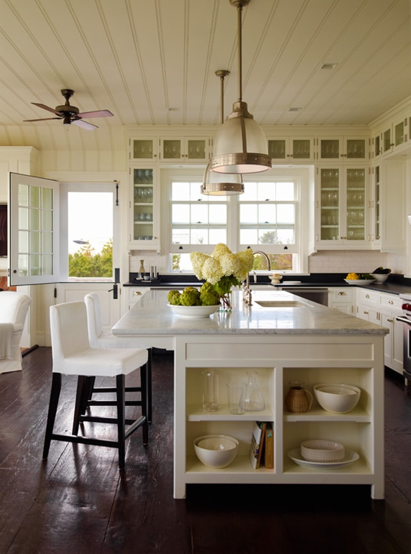 Beach house in the hamptons if i lived here the for Hampton style kitchen stools