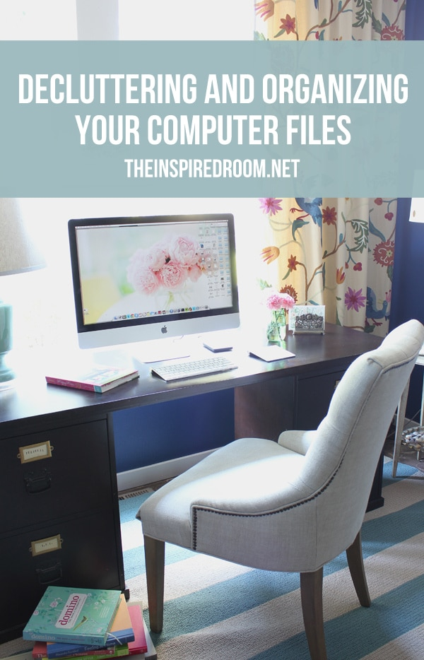 {The Decluttered Home} Organizing Computer Files and Photos