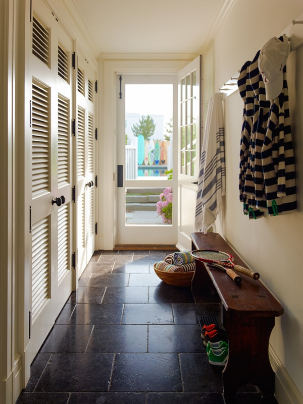 Functional and Charming Mudroom Entrance by Sawyer Berson Architects
