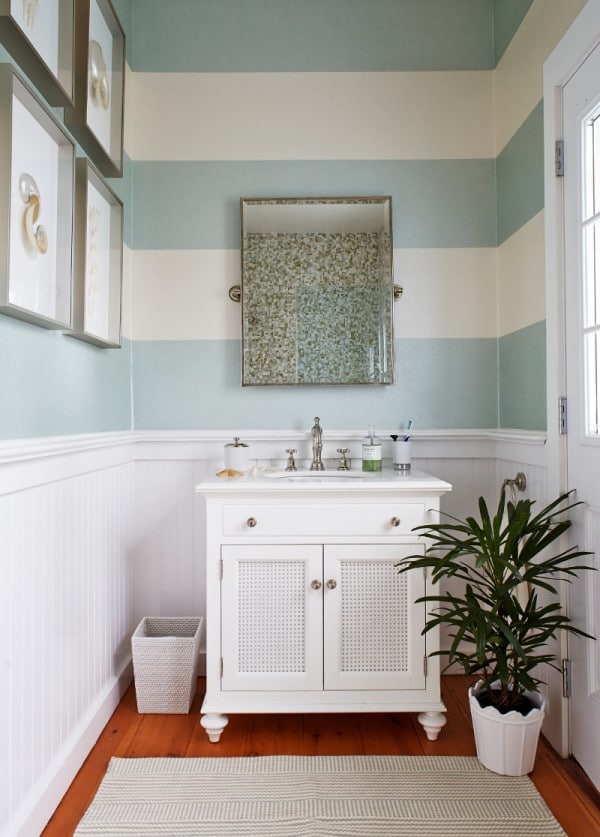 Bathroom Wall Paint Design Ideas ~ Small house solutions the inspired room