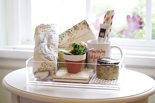 Housewarming Gift Tray Ideas