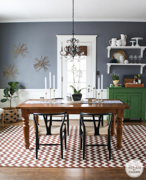Collected Dining Room {Inspired By Charm}