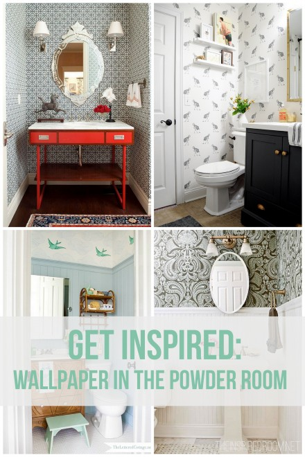 Powder Room Wallpaper Inspiration Ideas